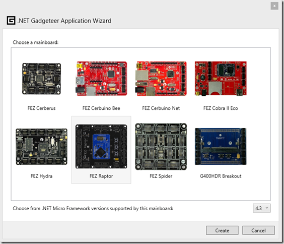 new_gadgeteer_project_choose_board